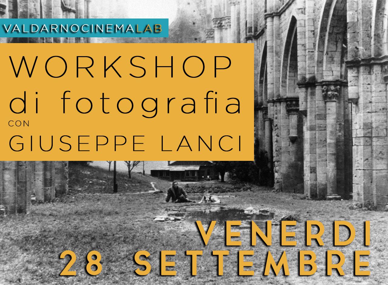 Workshop di fotografia con Giuseppe Lanci
